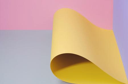 Multicolored paper background.