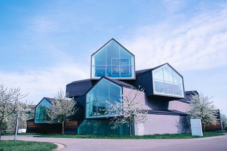 WEIL AM RHEIN, GERMANY - April, 2018: Vitra House building.