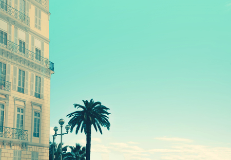 Building in Nice, France.