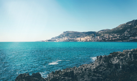 Beautiful view of Monaco on sunny summer day. Kho ảnh