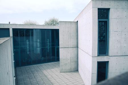 WEIL AM RHEIN, GERMANY - April, 2018: Tadao Ando building.
