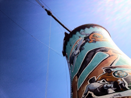 johannesburg: Soweto Towers sky view South Africa