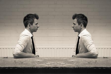 espelhamento em comunicação Imagens