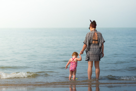 family love at the sea