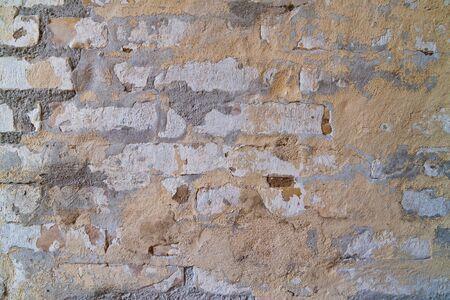 decomposed: Brickwall descompone con cal y pintura