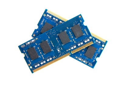 byte: Two RAM modules on top of each other