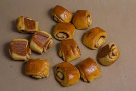 Newly baked cinnamon rolls