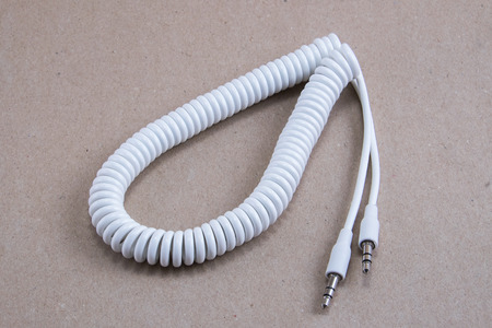 35 mm: 3.5 mm spiral extension cable