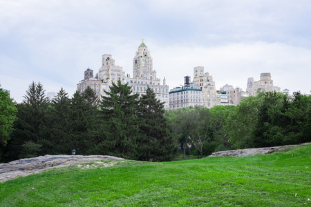 south east: South east corner of Central Park New York
