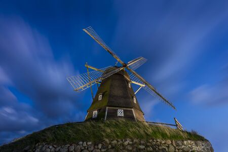 An old mill near Jægerspris in Denmark.