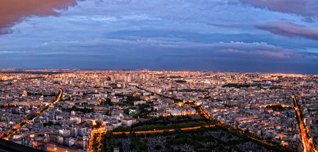 Cityscape of Paris by Night