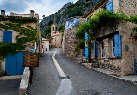 Rustic village in the Provence Stockfoto