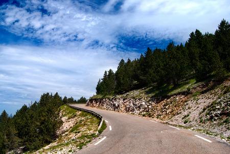 Road on the Mont-Ventoux