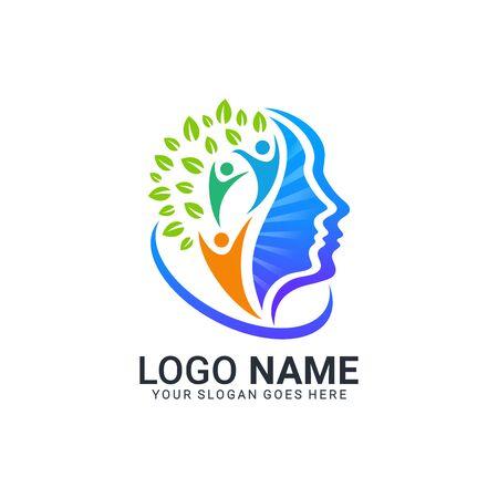 Projektowanie logo streszczenie symbol technologii cyfrowej. Nowoczesne projektowanie logo dditable
