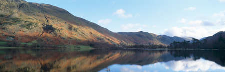 A panoramic view of Ullswater in Cumbria Stock Photo - 13758598