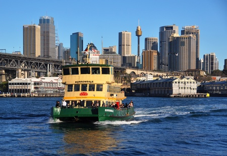 ferry: One of Sydney