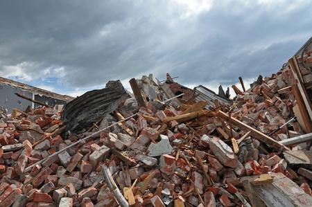 Christchurch, Nueva Zelanda - 29 de septiembre de 2010: Los restos de una tienda en Riccarton Road - otro de los más difíciles en las zonas afectadas por el reciente terremoto del 29 de septiembre de 2010 en Christchurch.