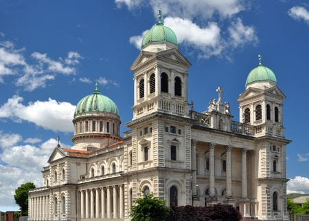 Christchurch Catholic Cathedral, New Zealand prior to its destruction in recent earthquakes