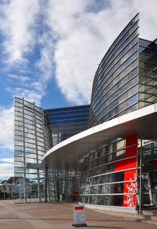 Modern Christchurch City Art Gallery Entrance