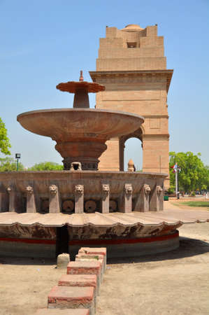 india gate: The India Gate is the national monument of India. Situated in the heart of New Delhi, the India Gate was built in 1931 and was originally known as the All India War Monument.