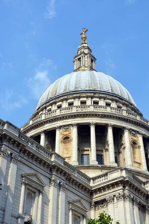 st  paul   s cathedral: St Paul s Cathedral Dome, London  Stock Photo