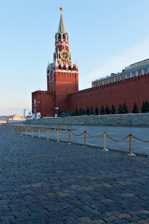 Red square in Moscow in Russian federation. photo