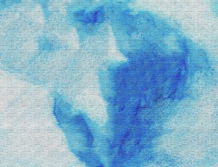 smirch: Blue textured watercolor background