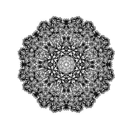 mandala: Ornamental mandala