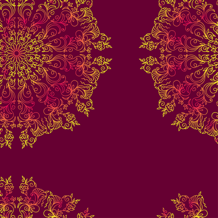 decorative design: Seamless background in abstract style. Vector design element.