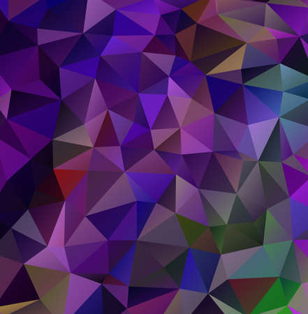 triangle shaped: Abstract decorative vector background with triangular polygons