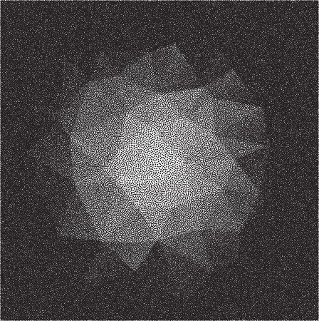 dotted background: Abstract chaotic dotted background. Element for design.