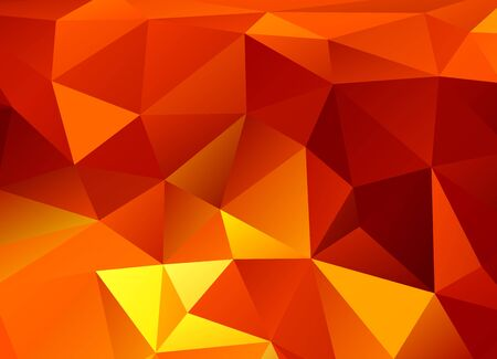 Abstract decorative background with triangular polygons