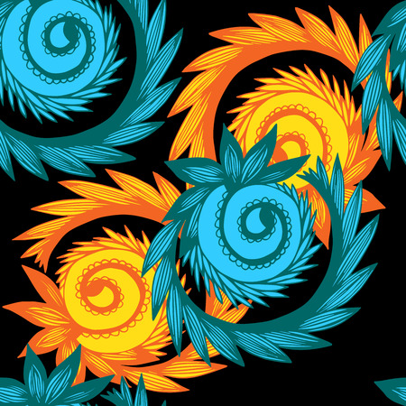 Seamless background in abstract style, design element.
