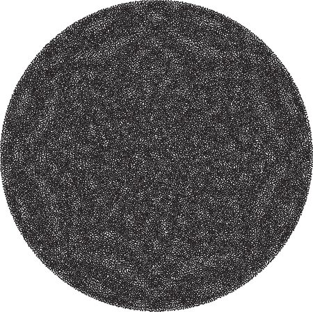 ripple effect: Abstract striped background in circle. Concentric circles, ripple effect.