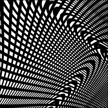 Abstract background with black and white stripes, design element.
