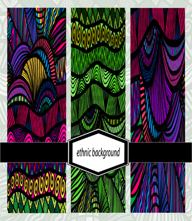 abstract backgrounds: Doodle abstract ornamental backgrounds