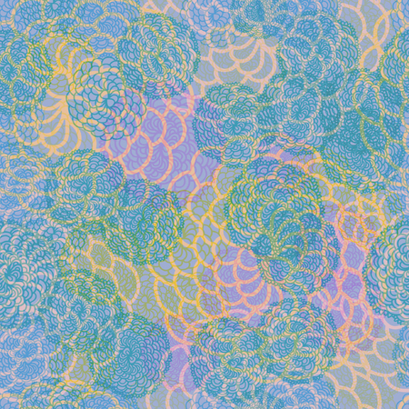 Abstract seamless multicolored texture. Element for design. Ornamental backdrop. Ornate decor for wallpaper.