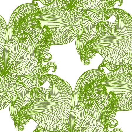 undulated: Seamless wavy pattern. Repeating texture. Stylish wavy background Illustration
