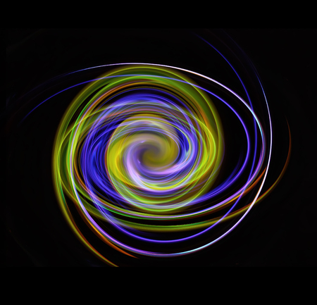 twirl: Abstract colorful bright swirl background with lighting effects.