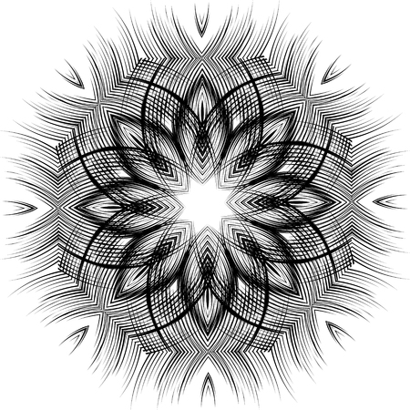Abstract mandala pattern Illustration