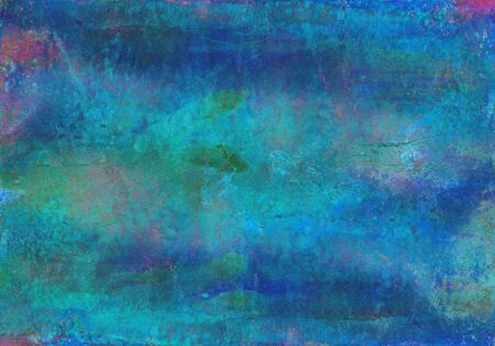 Watercolor bright hand painted abstract background. Handmade aged paper texture. Grunge overlay. Can be used for cards, invitations, web, clothing, textile, vintage poster, banner, scrapbook.