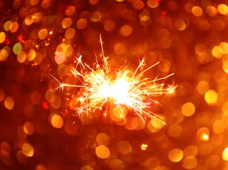 Bengali fire. Festive new year background.