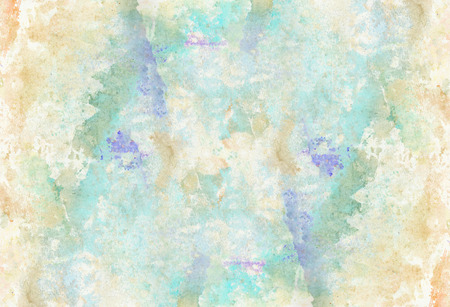 Abstract hand painted splash watercolor background. Decorative chaotic texture for design. Hand drawn picture on paper. Handmade overlay backdrop. Bright artistic painting.