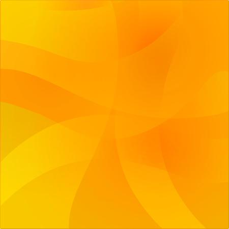 Fondo cálido amarillo ondulado abstracto. Superficie de degradado de brillo colorido para el diseño. Ilustración de vector