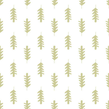 Seamless decorative vector pattern of oak leaves. Colorful background for wallpapers, textile, paper, scrapbook design. Ilustrace
