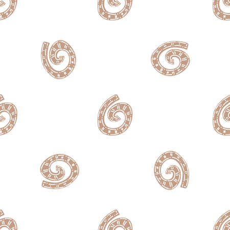 Seamless decorative vector pattern. Colorful background for wallpapers, textile, paper, scrapbook design.