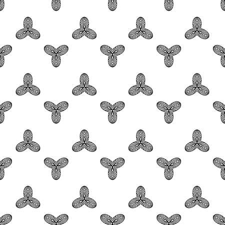 Elegant decorative pattern with lacy shapes.