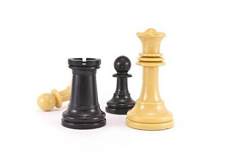 la batalla en el ajedrez