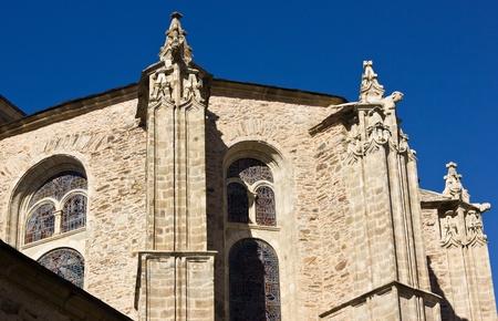 Villafranca del Bierzo Iglesia Foto de archivo
