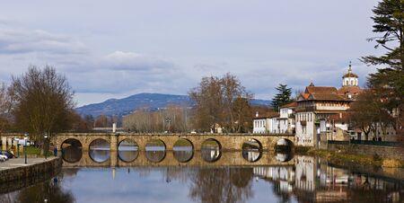 Roman bridge on Chaves,Portugal